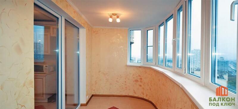 Установка теплого пола на балкон или лоджию